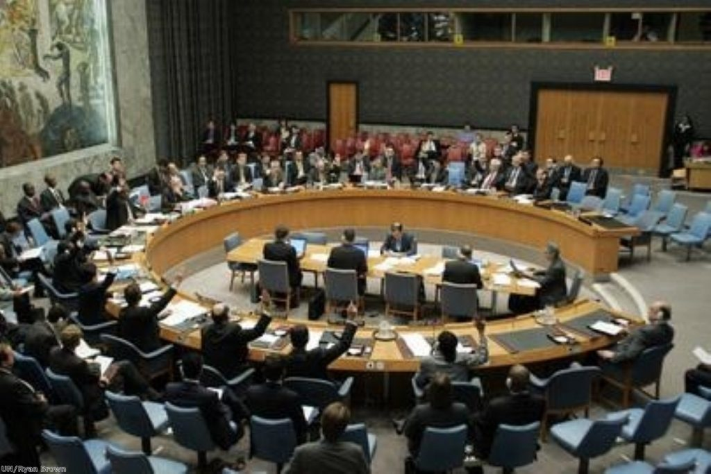 UN security council addressed Libya in closed session yesterday