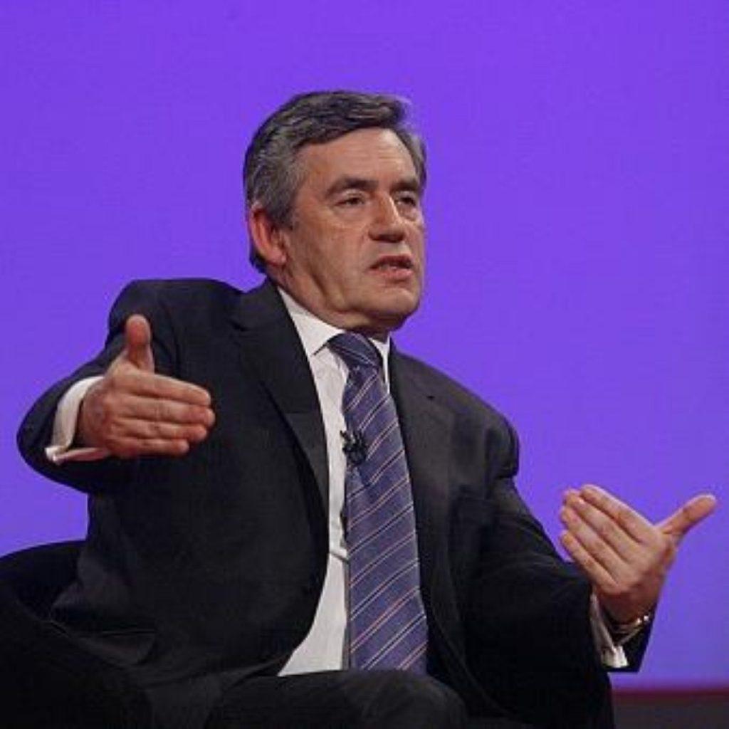 Brown backs apprenticeship review