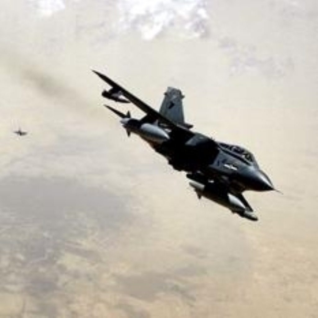 Tornado jets from RAF Marham carried out the attack.