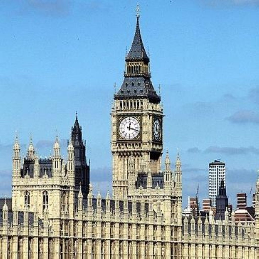 Liberty will protest outside parliament this afternoon