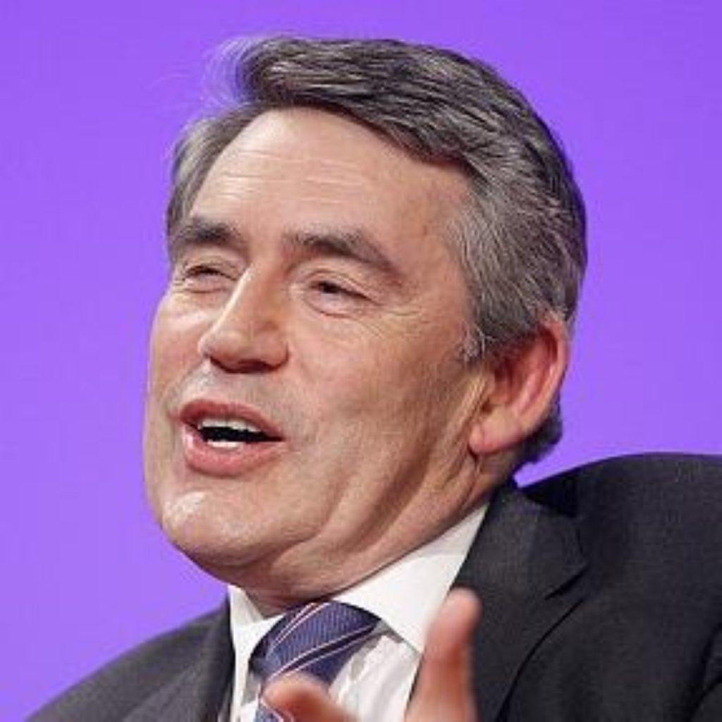 Gordon Brown meets Dalai Lama at Lambeth Palace