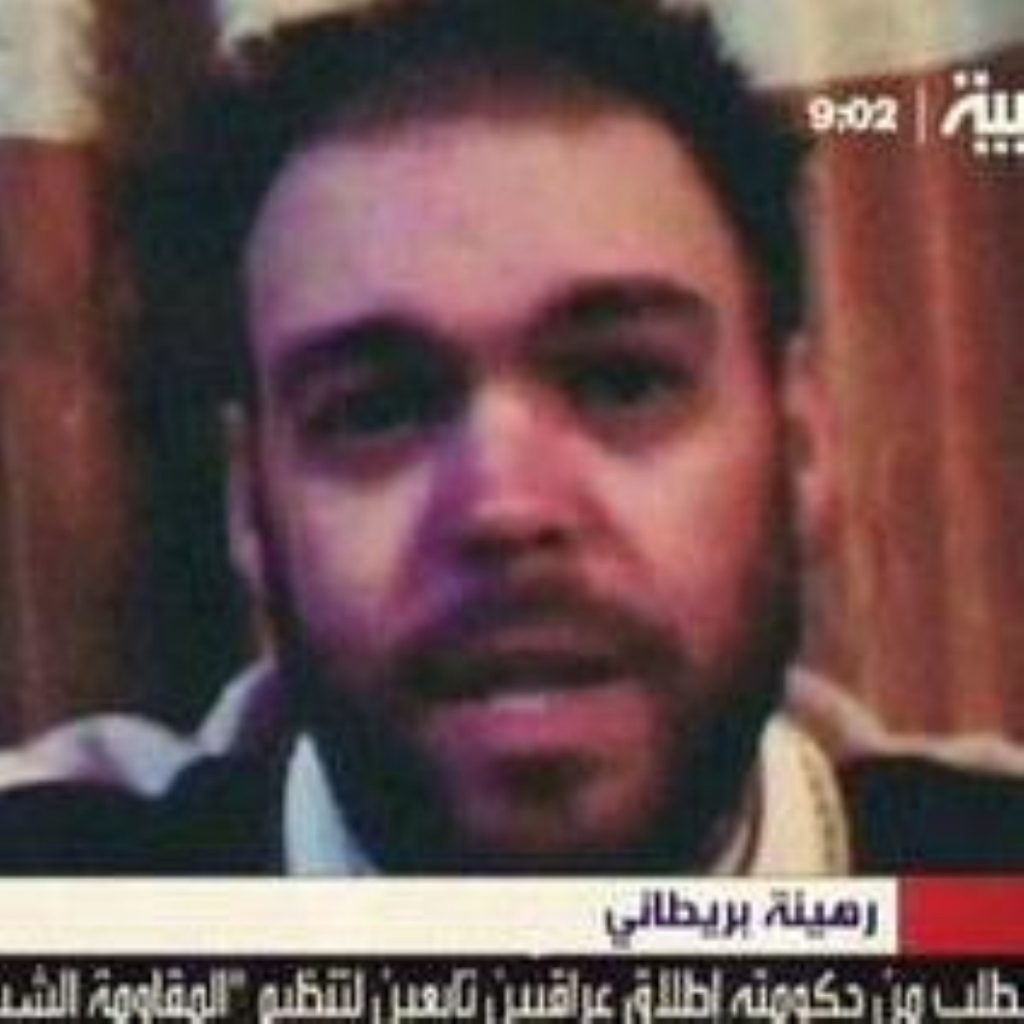 Government insists it is doing all it can to secure release of five Britons kidnapped in Iraq one year ago