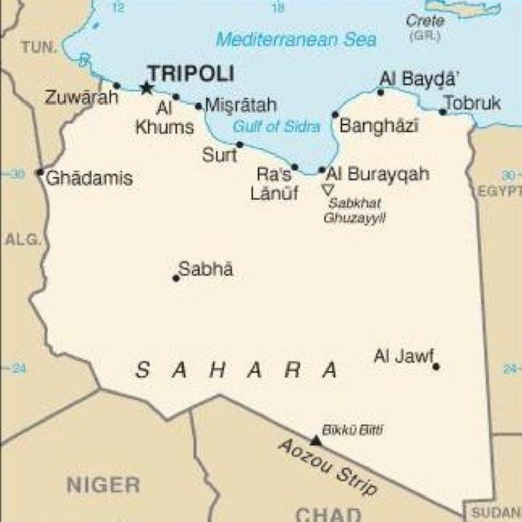 Muammar Gaddafi has lost control of most of Libya