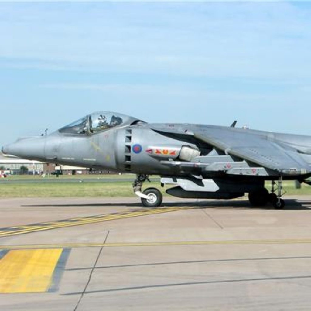 Harrier jump jets are to be scrapped