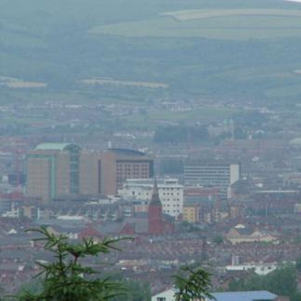Belfast: Marches figure prominently in the talks