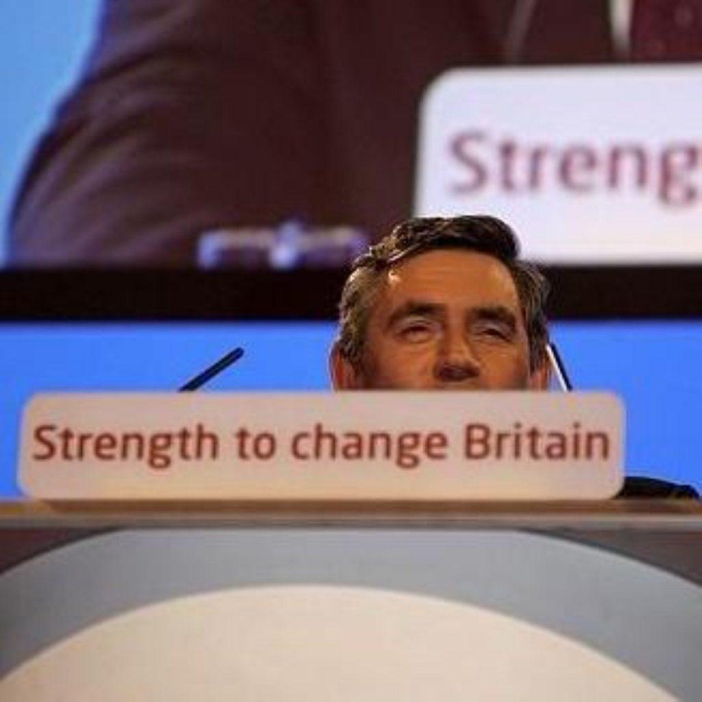 Ministers united behind Gordon Brown