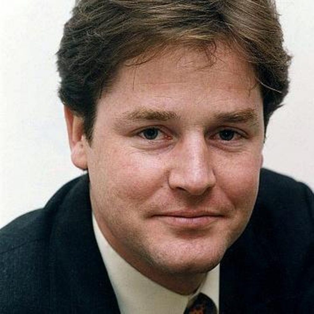 Nick Clegg's tribute to Thatcher in full