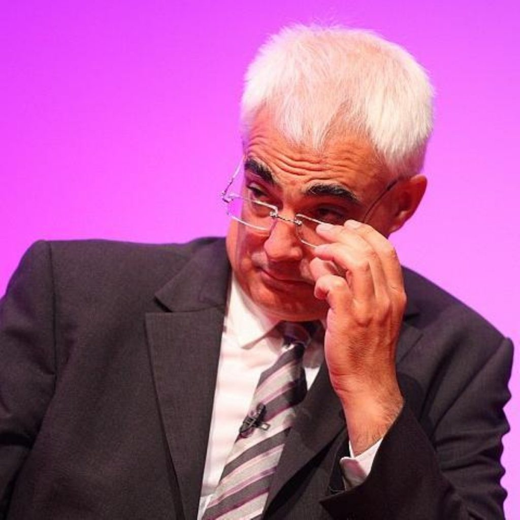 Mr Darling assured pensioners the money would not be clawed back