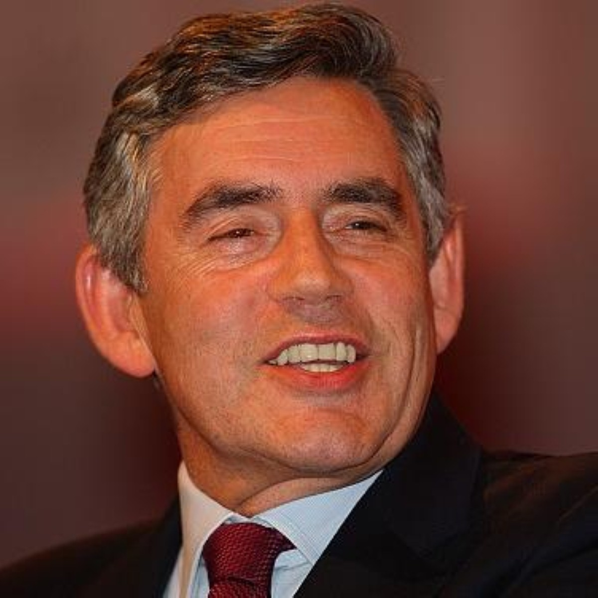 Gordon Brown delivers the speech of his life