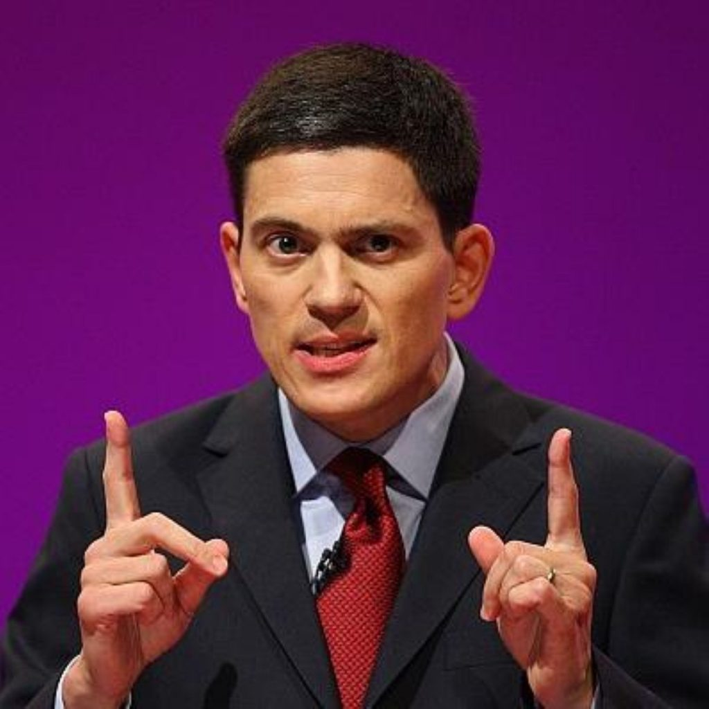 David Miliband said left-wing parties have been 'neutralised' by a resurgent right.