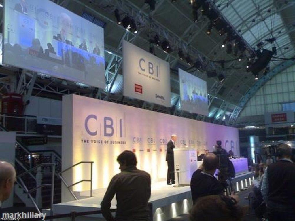 Dr Neil Bentley was speaking at a CBI event