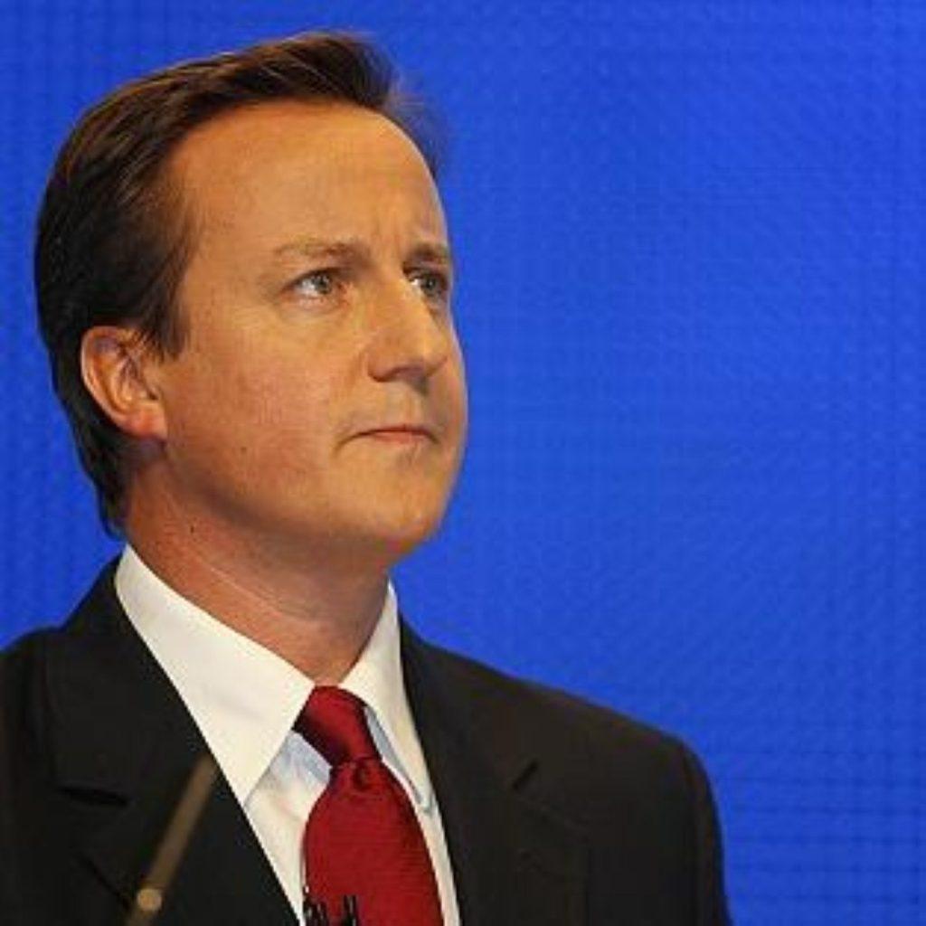 Cameron celebrates St George's Day