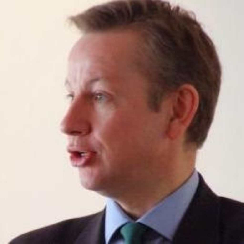 Gove: 'Suddenly there is a cloud hanging over the teacher'