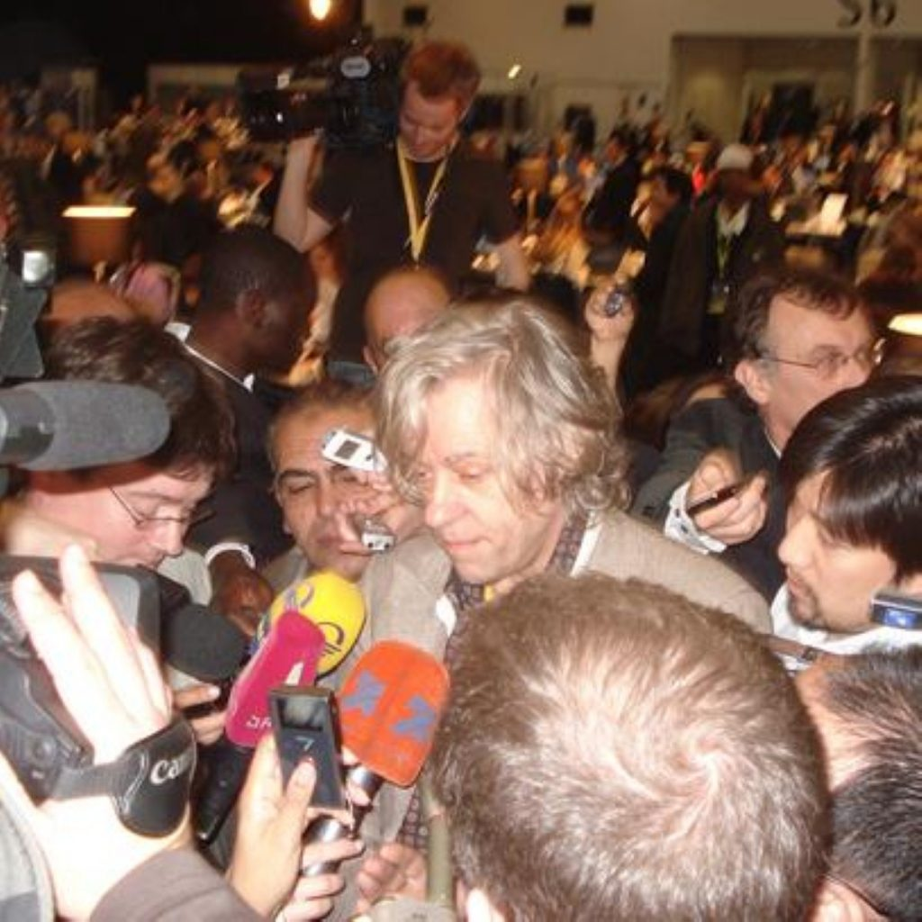 Bob Geldof comes out against independence