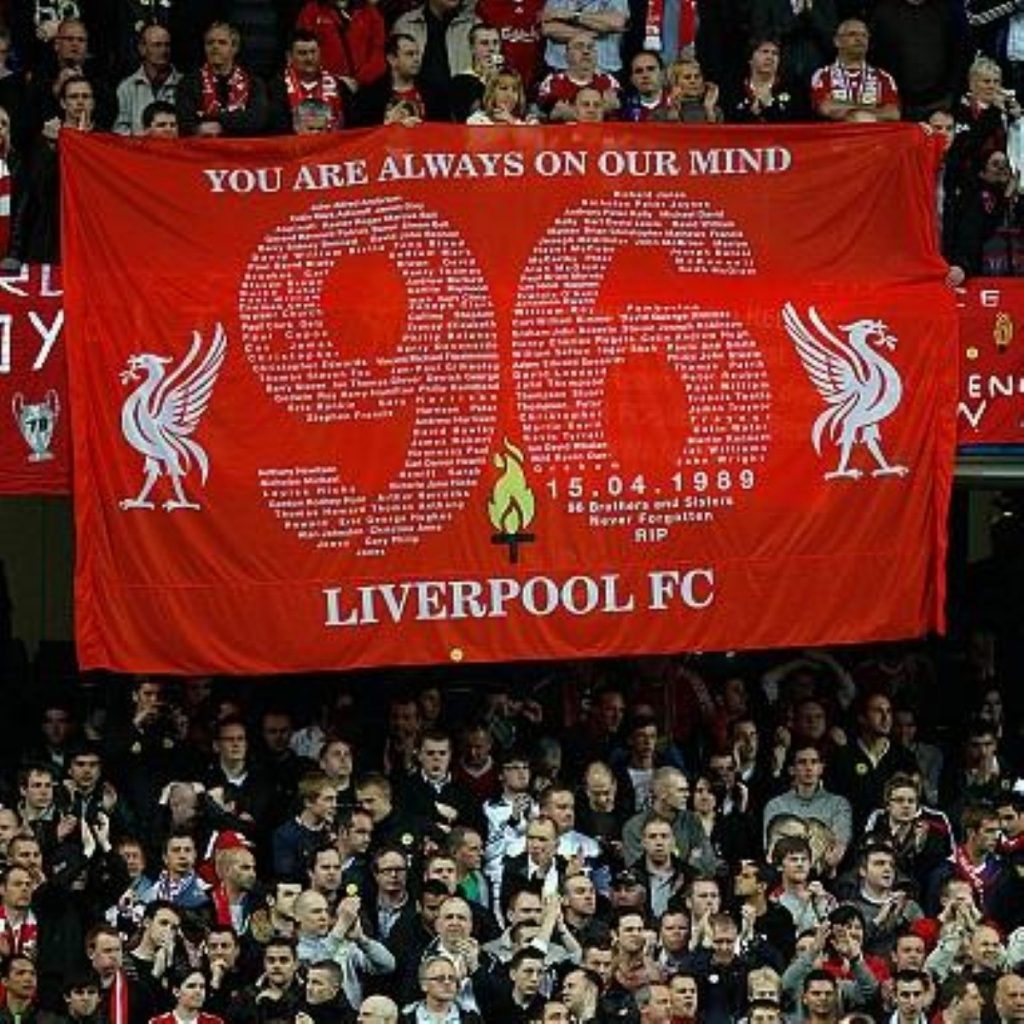 Liverpool fans are not easily forgiving after the injustices of Hillsborough