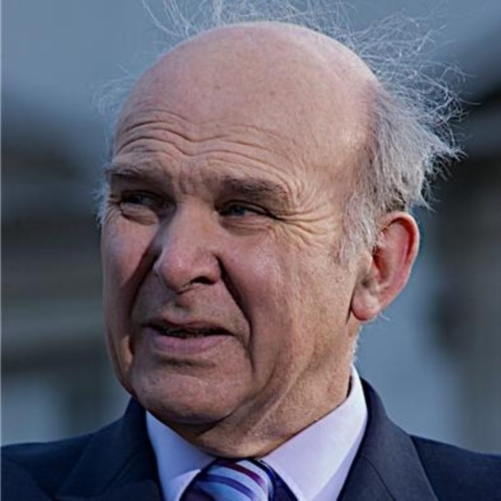 """Vince Cable said there was a lack of """"common sense"""" around copyright laws"""