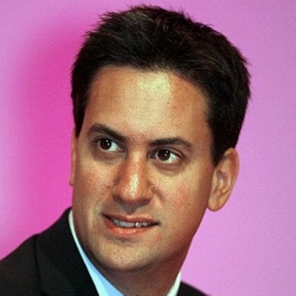 """Ed Miliband: """"The next Labour government will put British design, British invention, British manufacturing at the heart of our economic policy."""""""