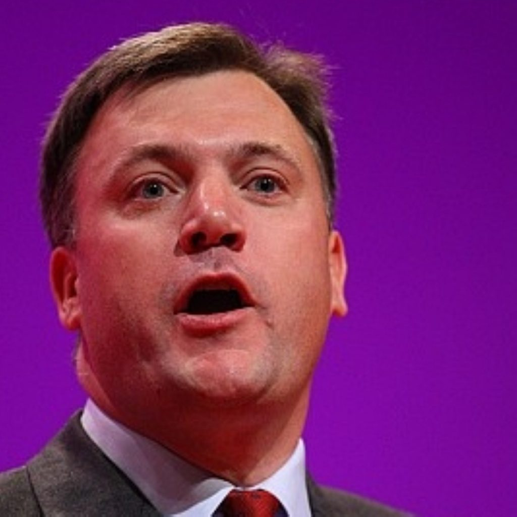 Balls: 'Growth denial - that's George Osborne's position'