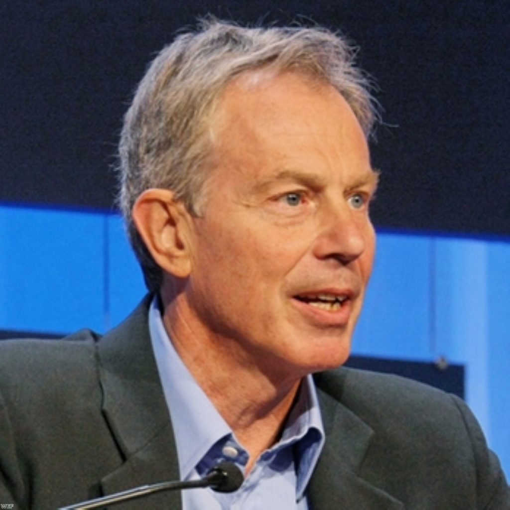Tony Blair still has a lot to say on the Middle East