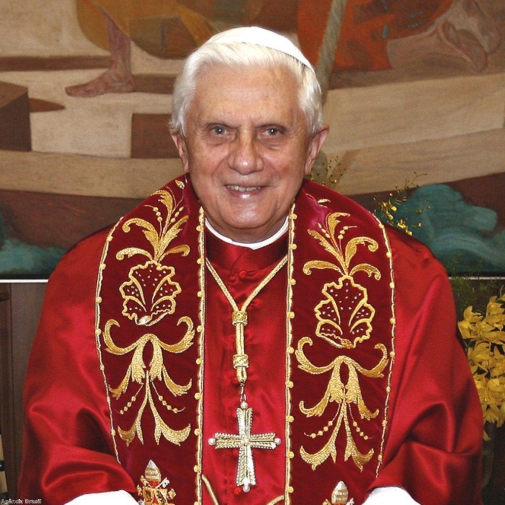 Pope Benedict XVI attacks equality bill