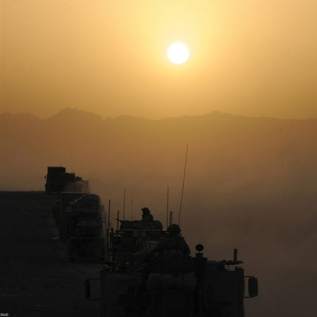 Christians against Afghanistan war, poll suggests