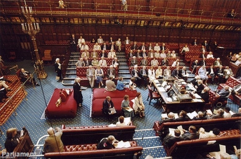 Packed with peers, the Lords is now `bloated`