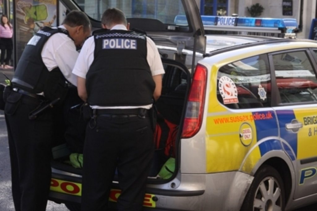 Budget cuts could lead to the loss of 22,000 police officers across the country