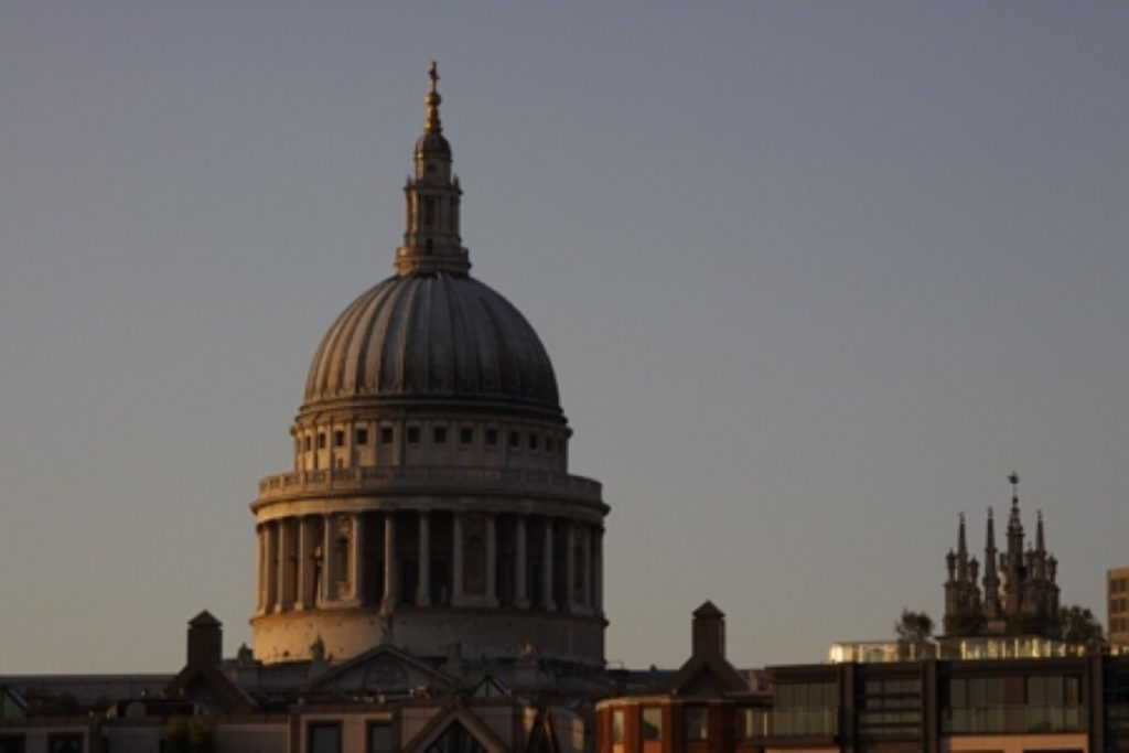 The memorial address was read in St Paul's cathedral