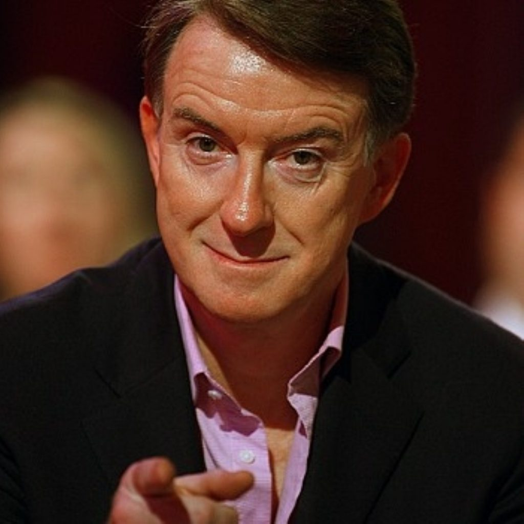 Business secretary Lord Mandelson launched a blistering attack on the BBC this morning.
