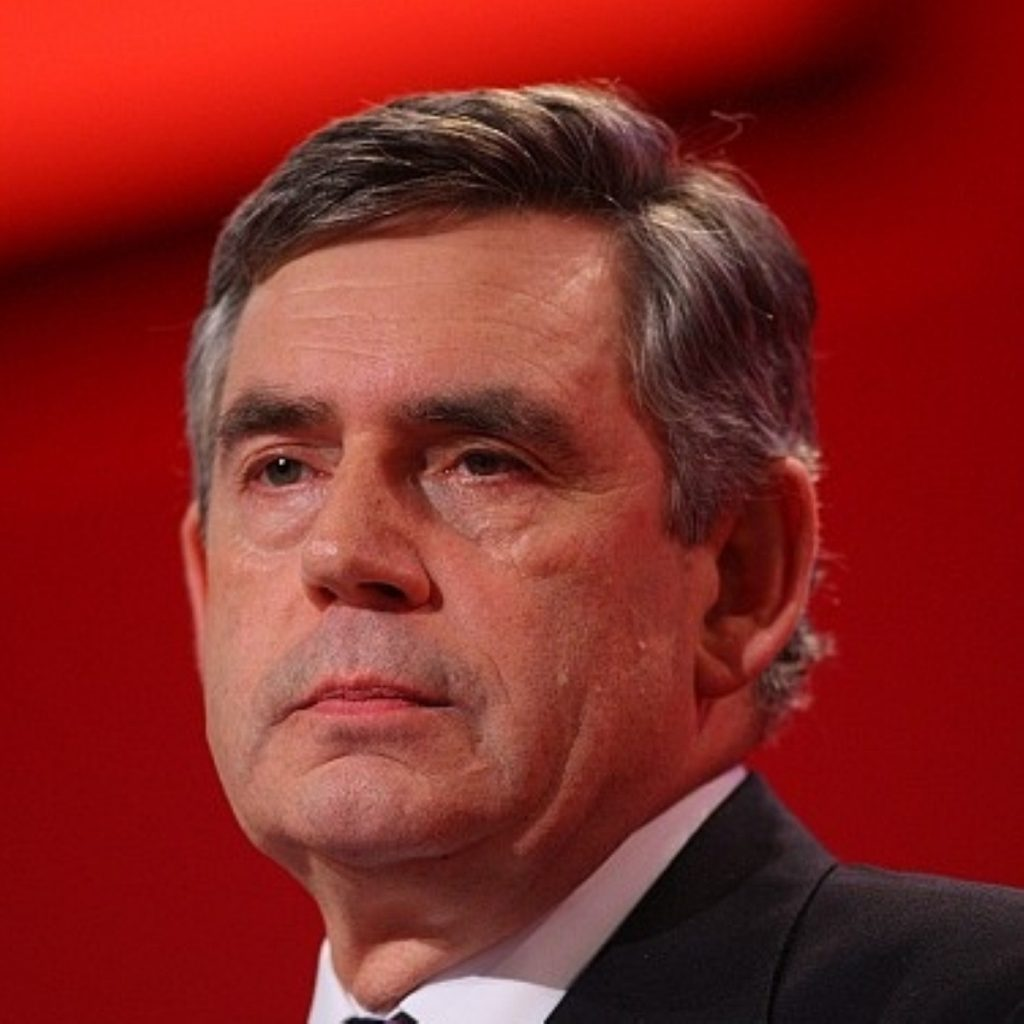Brown: weak on the unions and backbenchers?