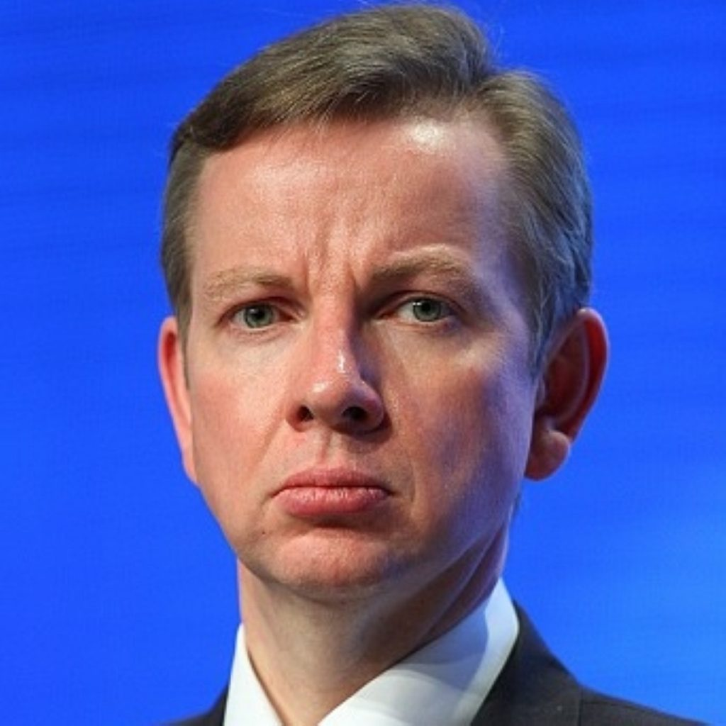 Gove wishes he was a better pupil