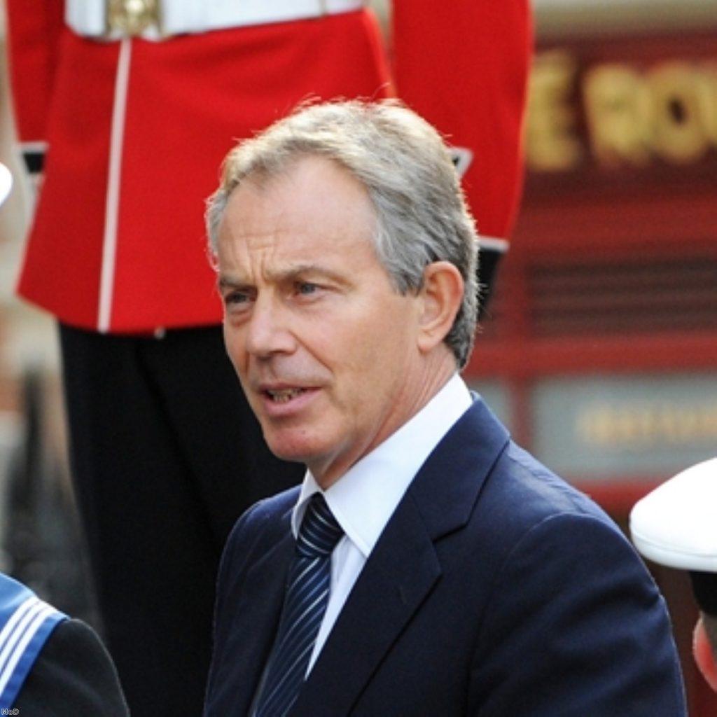 Blair issues Muslim extremism warning