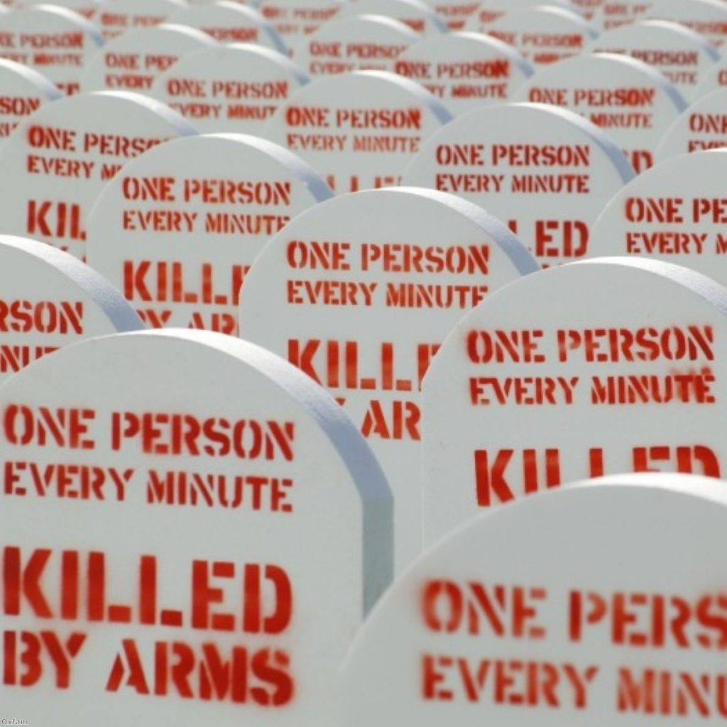 The arms trade requires public subsidy but doesn't necessarily make us safer