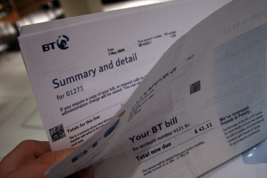 The BT bill: Taxpayers are paying for broadband provision despite profits for providers.