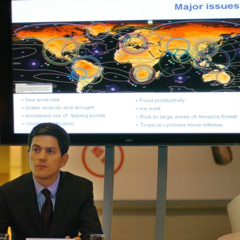Miliband showed concerns about strategy