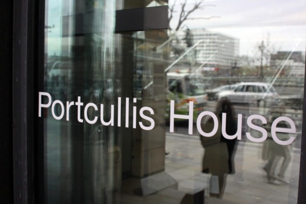 Portcullis House, where many MPs' offices are based.
