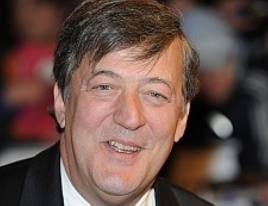 Celebrities including comedian Stephen Fry have signed a letter objecting to the Pope's visit