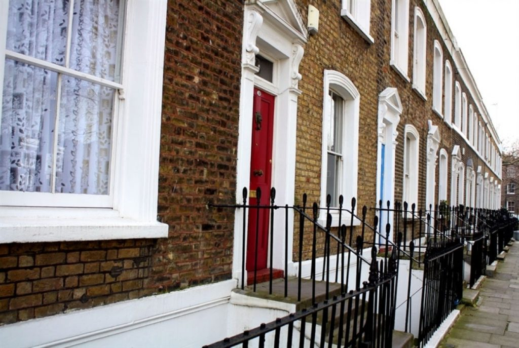 Relatively modest homes in central London are now worth millions.