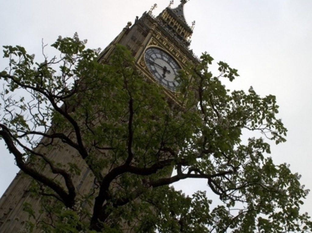 Explosive scenes in Westminster