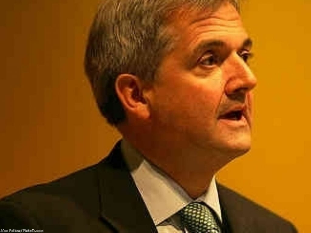 Chris Huhne is reported to have threatened to quit over the HRA