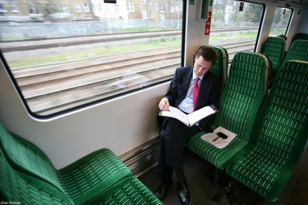 Lib Dem leader Nick Clegg didn't have the best of weeks