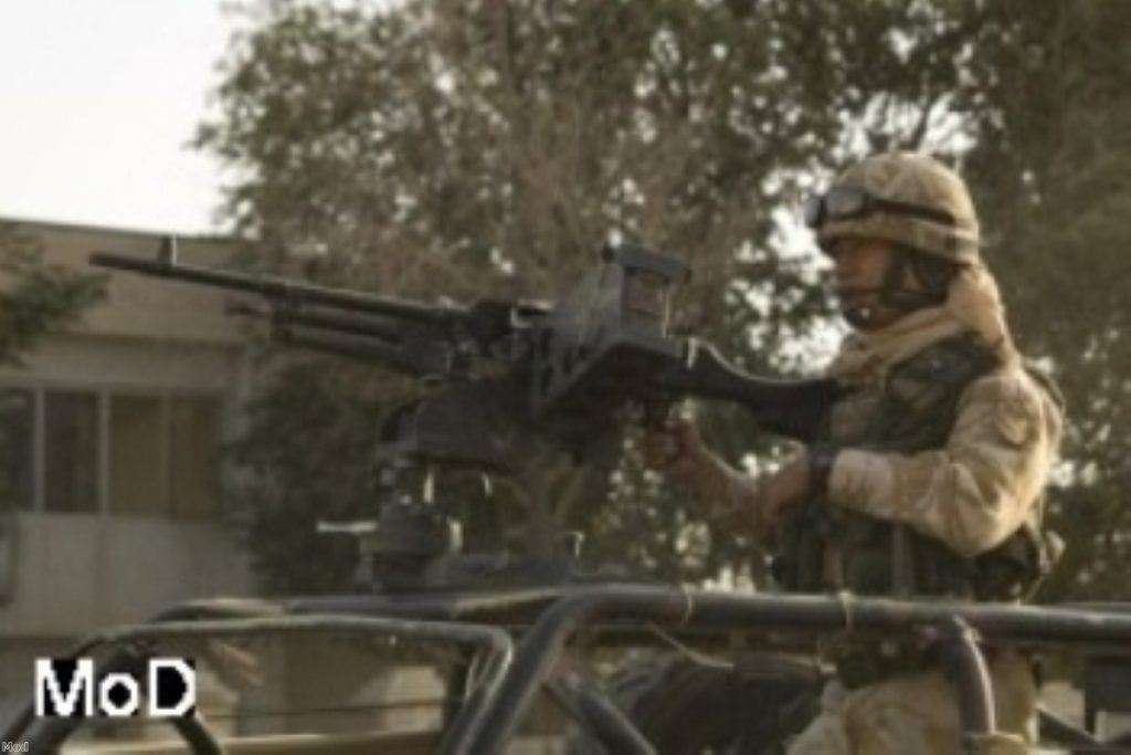 British Army fights on in Afghanistan