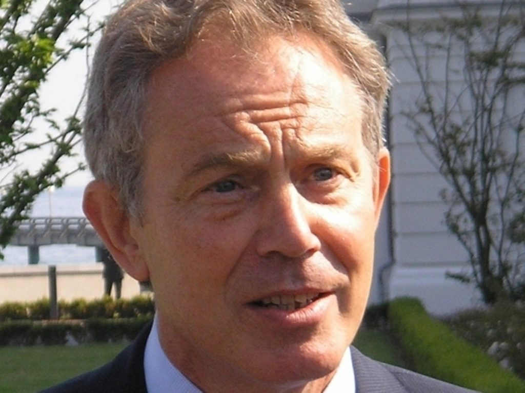 The advice was given to Blair shortly before the war