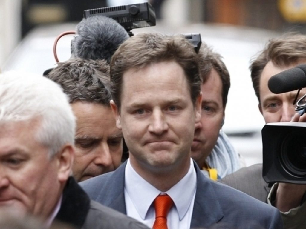 Nick Clegg heads strong Lib Dem presence on Cabinet committees