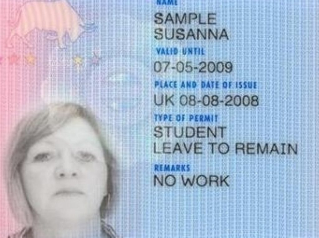 The Home Office has announced  that it wil work to achieve the cancellation of ID cards