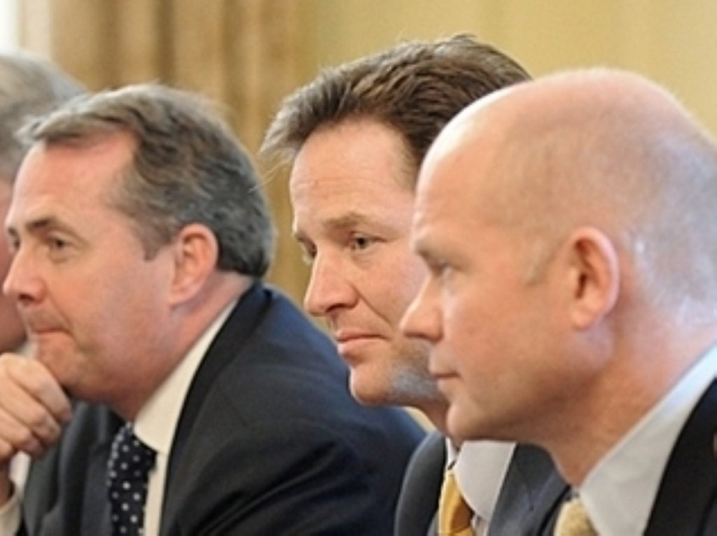 The new Cabinet brings together former political rivals