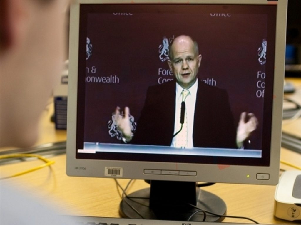 William Hague is heading to north Africa and the Middle East