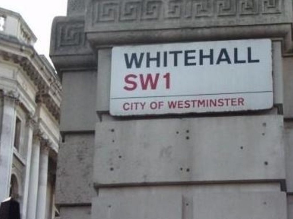 Cameron courts the civil service