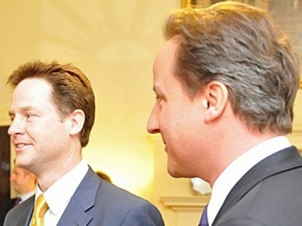 Clegg and Cameron reveal their programme for government today