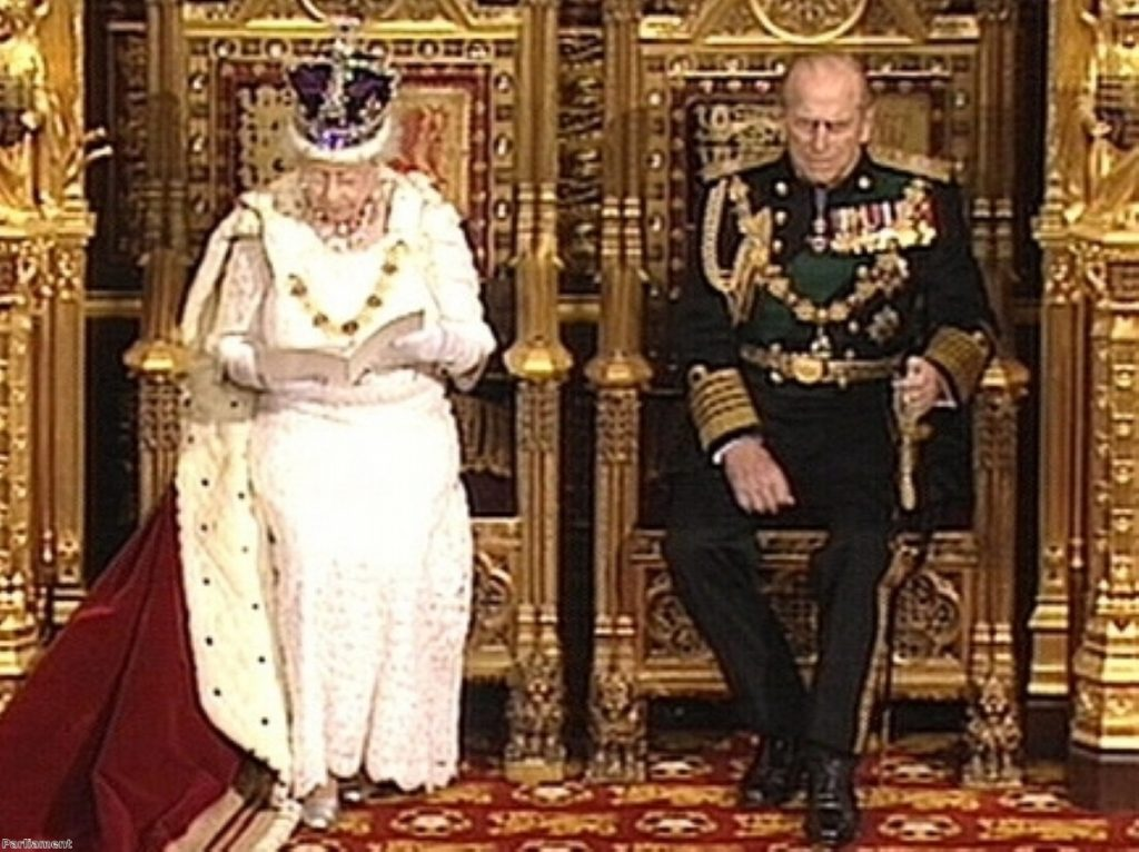 The first Queen's Speech of the coalition government